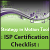 Internal Strategic Planner Certification Checklist