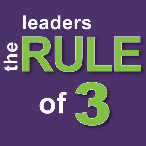The Leaders Rule of Three